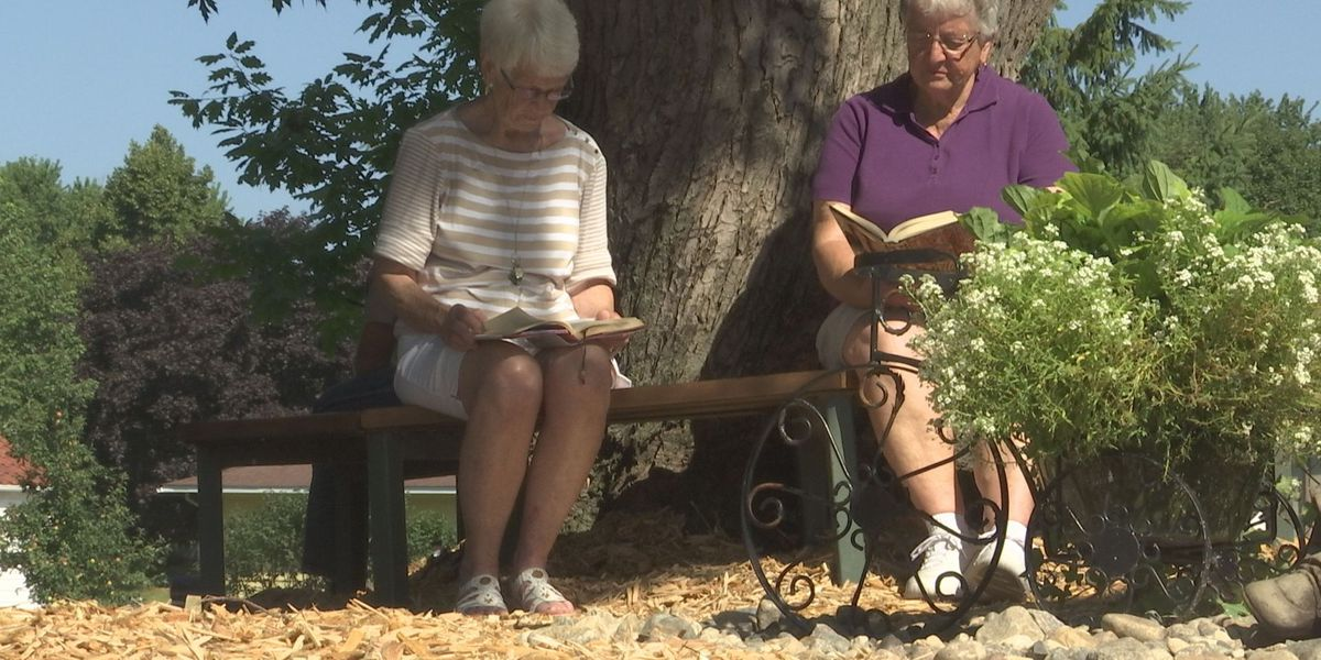 Reading Garden provides relaxing place for a book