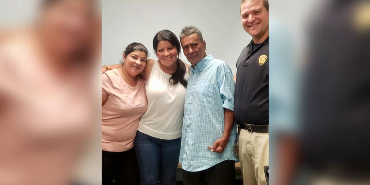 N.J. transit officers reunite homeless man with daughters after 24 years