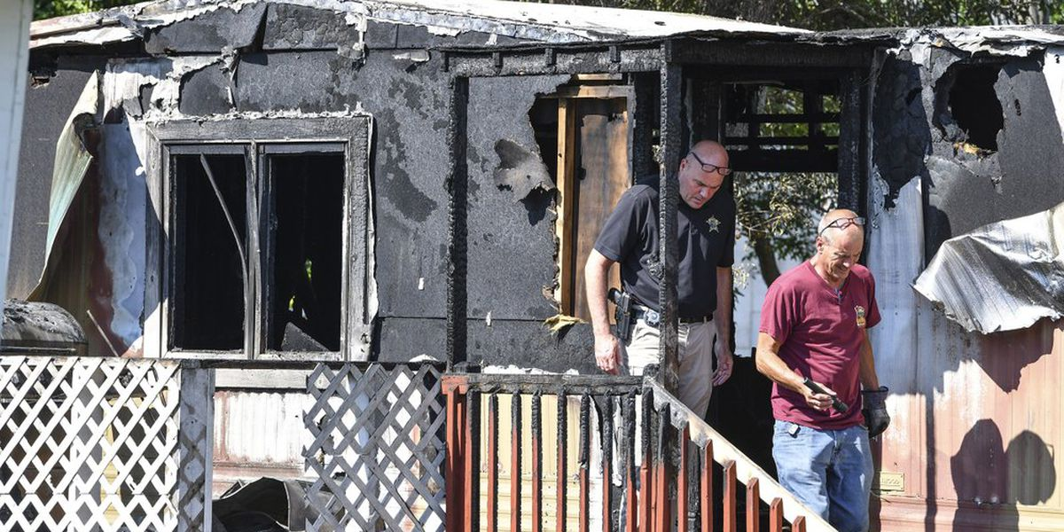 Father charged with starting fire that killed daughter