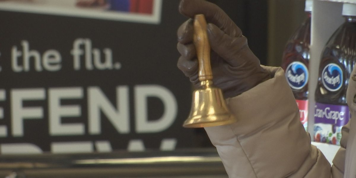 Mankato Clinic donates time as bell-ringers and donates dollars to local Salvation Army