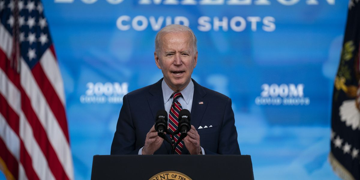 'Go get the shot': Biden highlights path back to normal