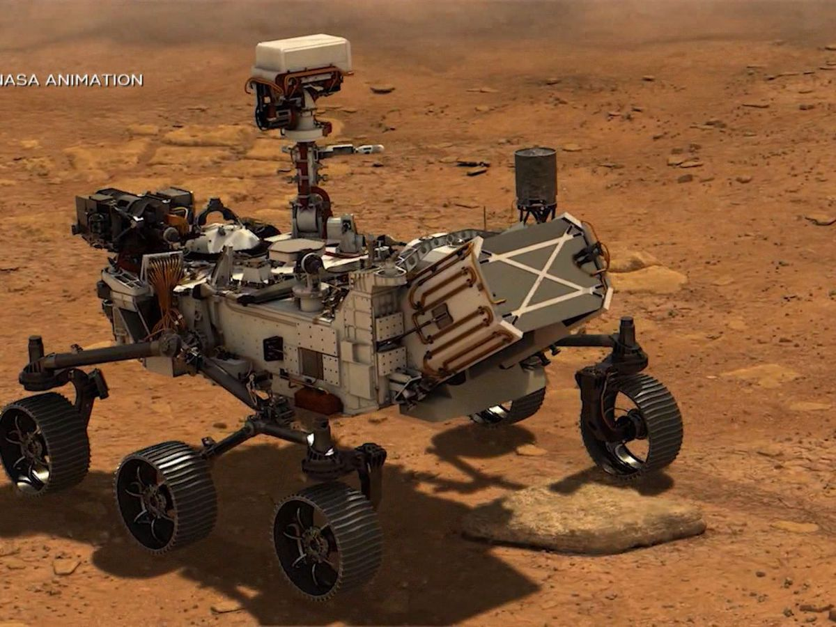 New Ulm company engineered parts for NASA's Mars rover