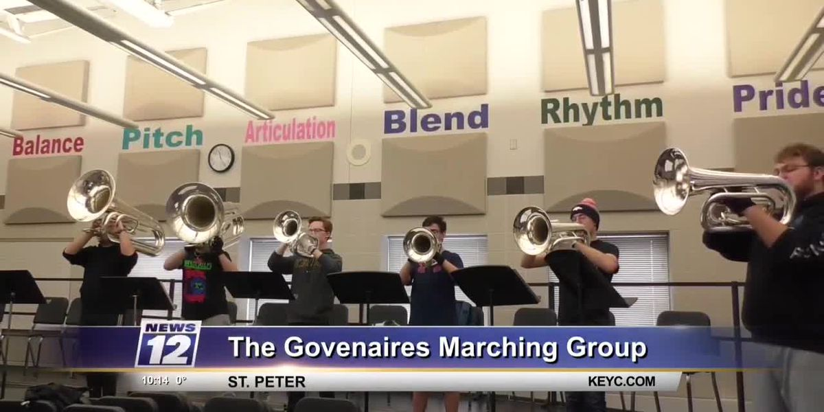 Govenaires competing marching group welcomes new members