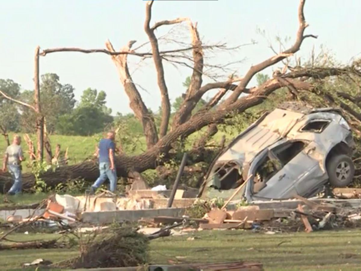 Deadly tornado in Minnesota rated EF4, peak wind of 170 mph