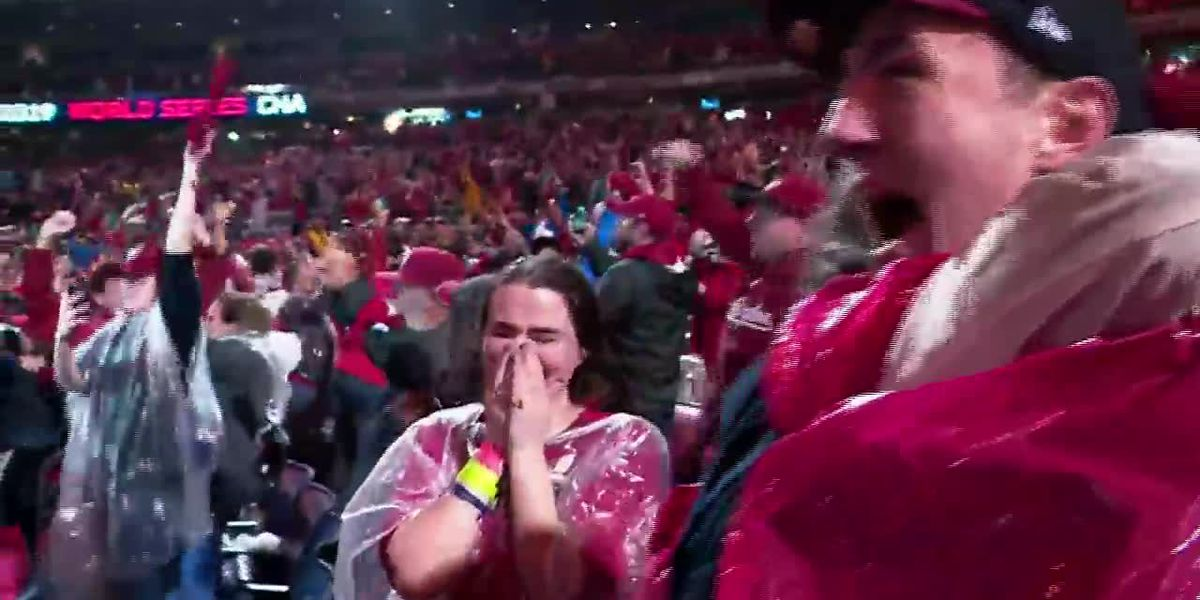 Washington Nationals fans celebrate first World Series win with cheers