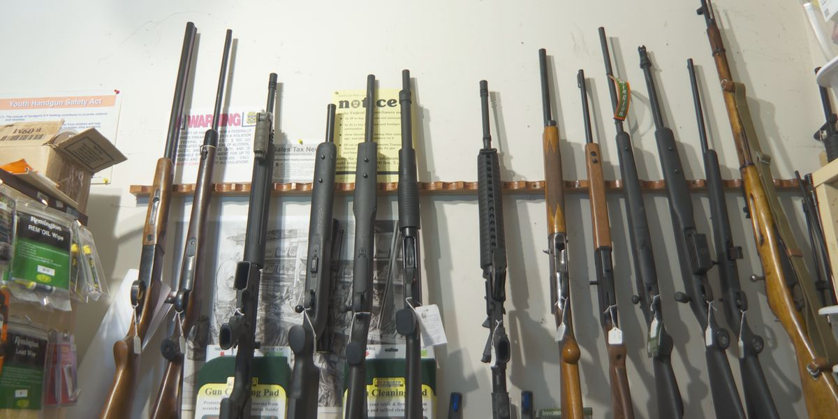 Firearm sales continue to remain high in 2020