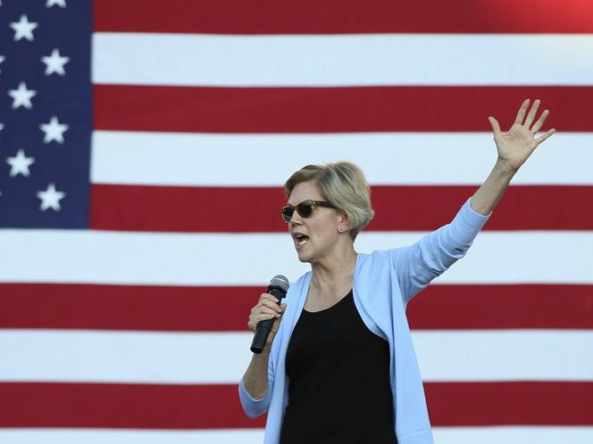 Elizabeth Warren campaigns for a 2nd day in Minnesota