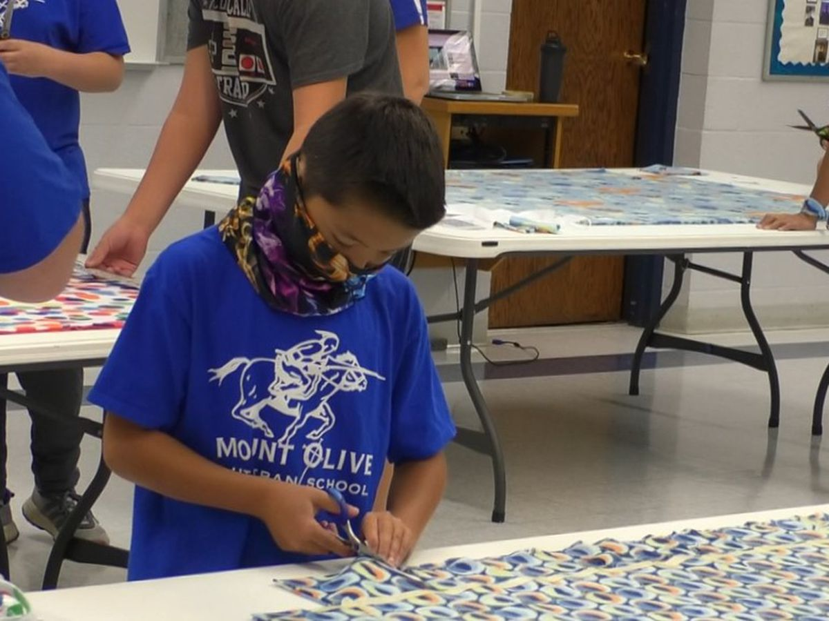 Local school gets crafty, gives back to community