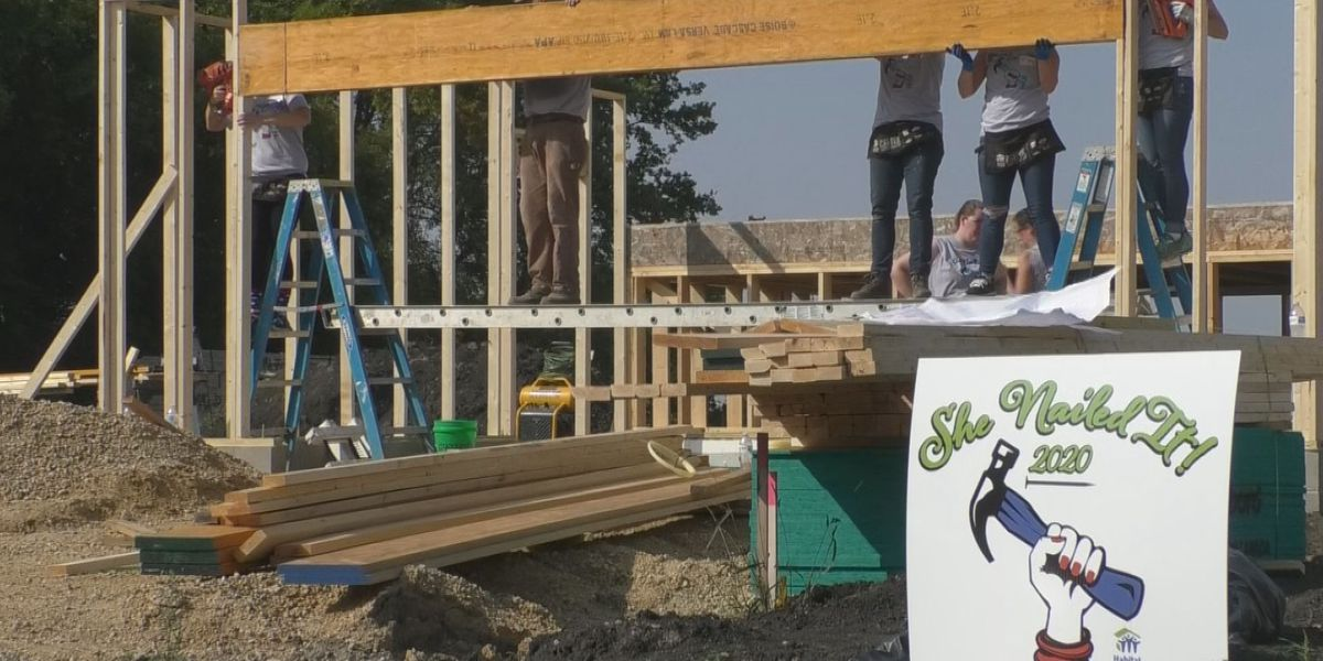 New Habitat For Humanity initiative aims to get women on the construction site