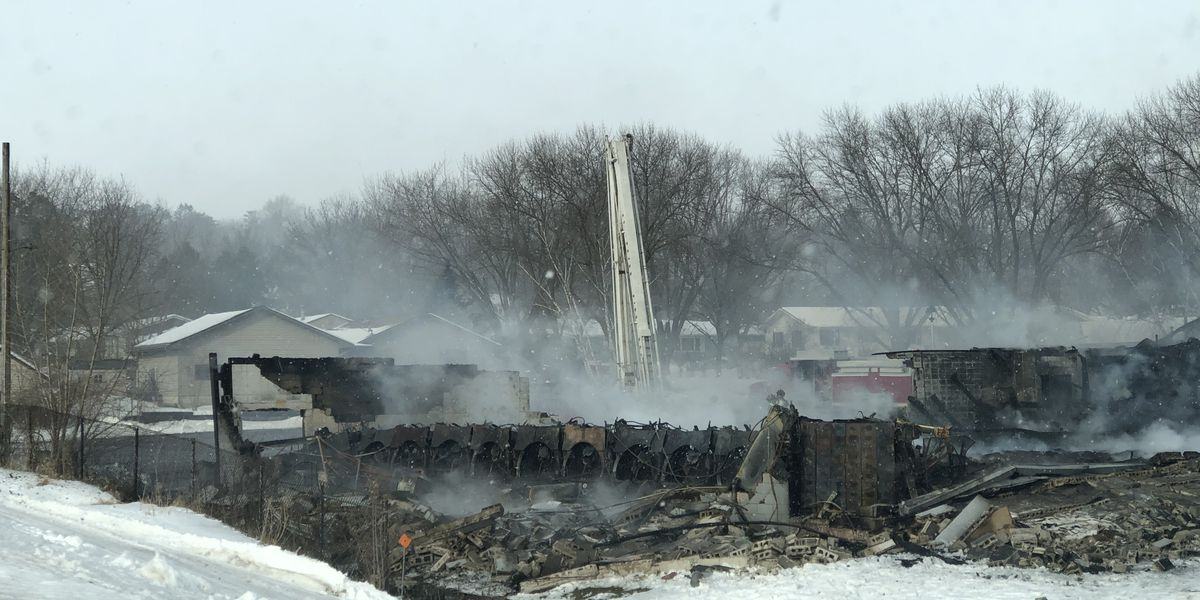 Fire destroys KingPins Bowling Alley in St. Peter