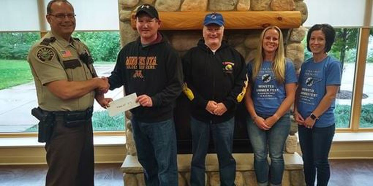 Family of Lester Prairie woman killed in helicopter crash donates to McLeod County Sheriff's Office