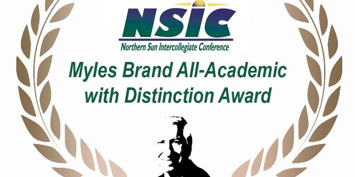 12 Mavericks receive the NSIC's Myles Brand Award