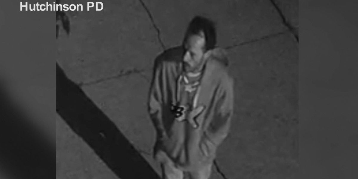 Hutchinson Police searching for burglary suspect