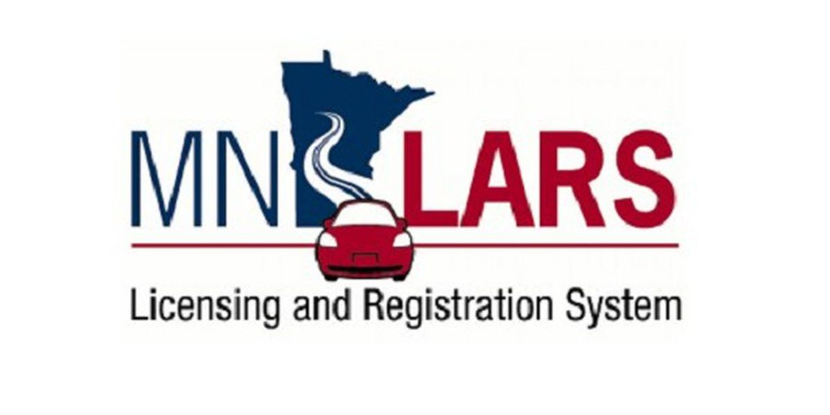 Image result for Minnesota Licensing and Registration System, also known as MNLARS.