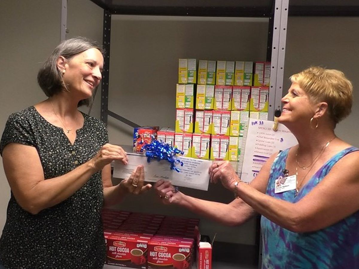 St. Peter's Children's Weekend Food Program receives $2,500 grant