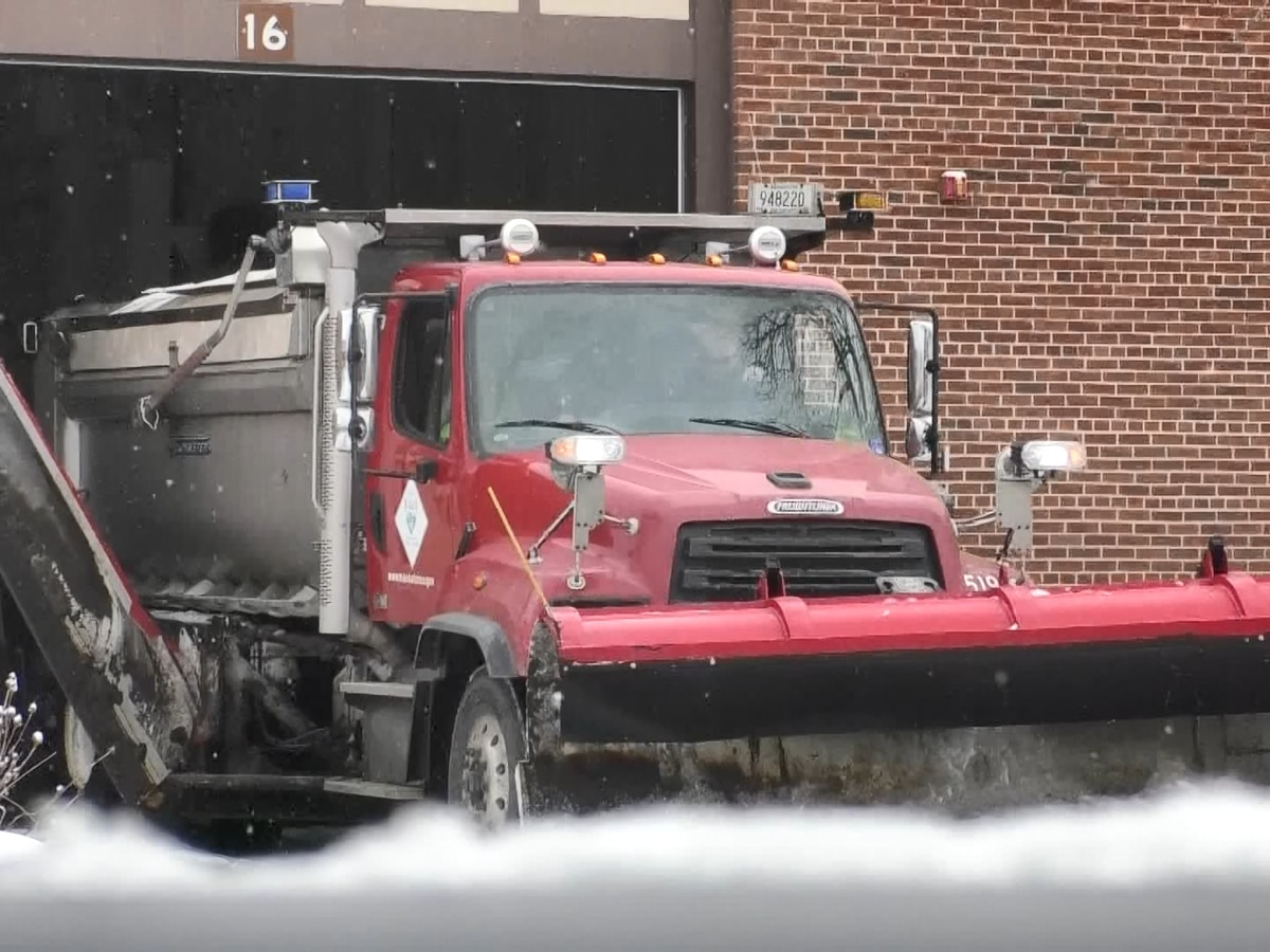 Snow emergencies being declared after first snowfall of season