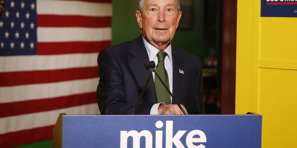 Bloomberg to make stop in Wells on Wednesday