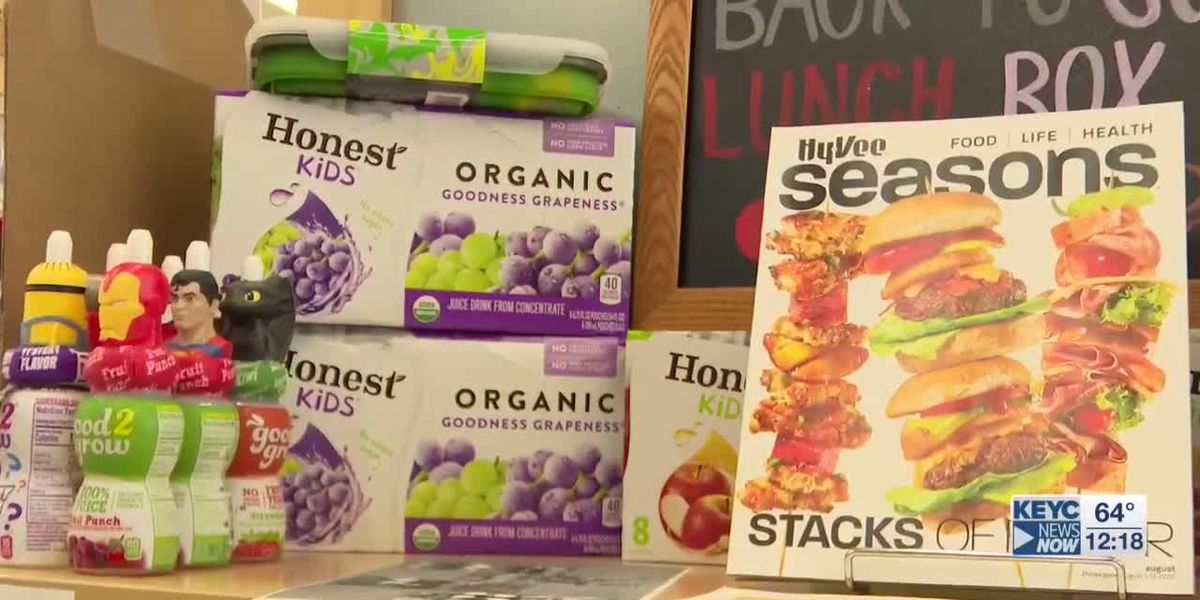 Back-to-school nutrition tips from Hy-Vee