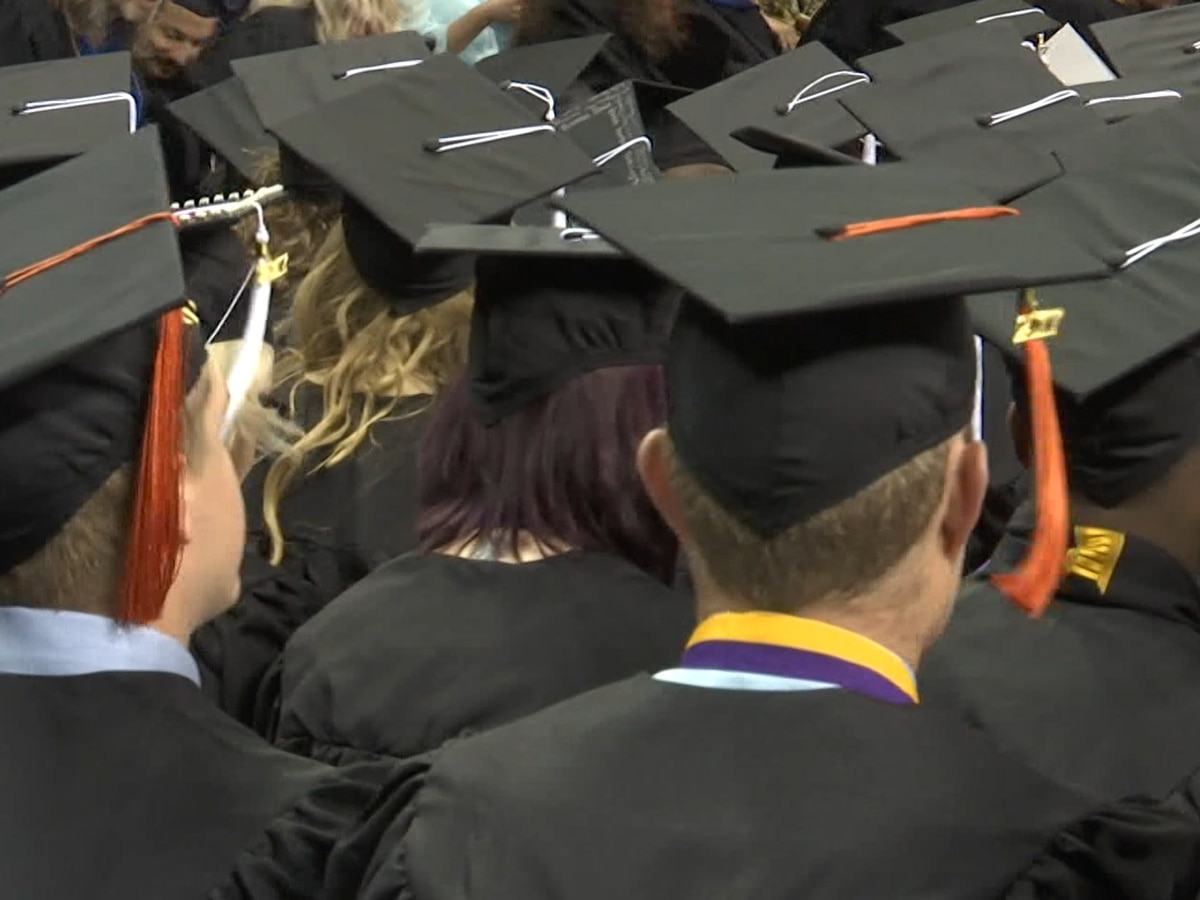 Area colleges host graduation ceremonies with COVID-19 accommodations