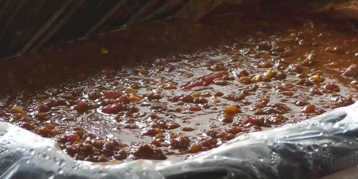 Locals keep warm with chili cook-off