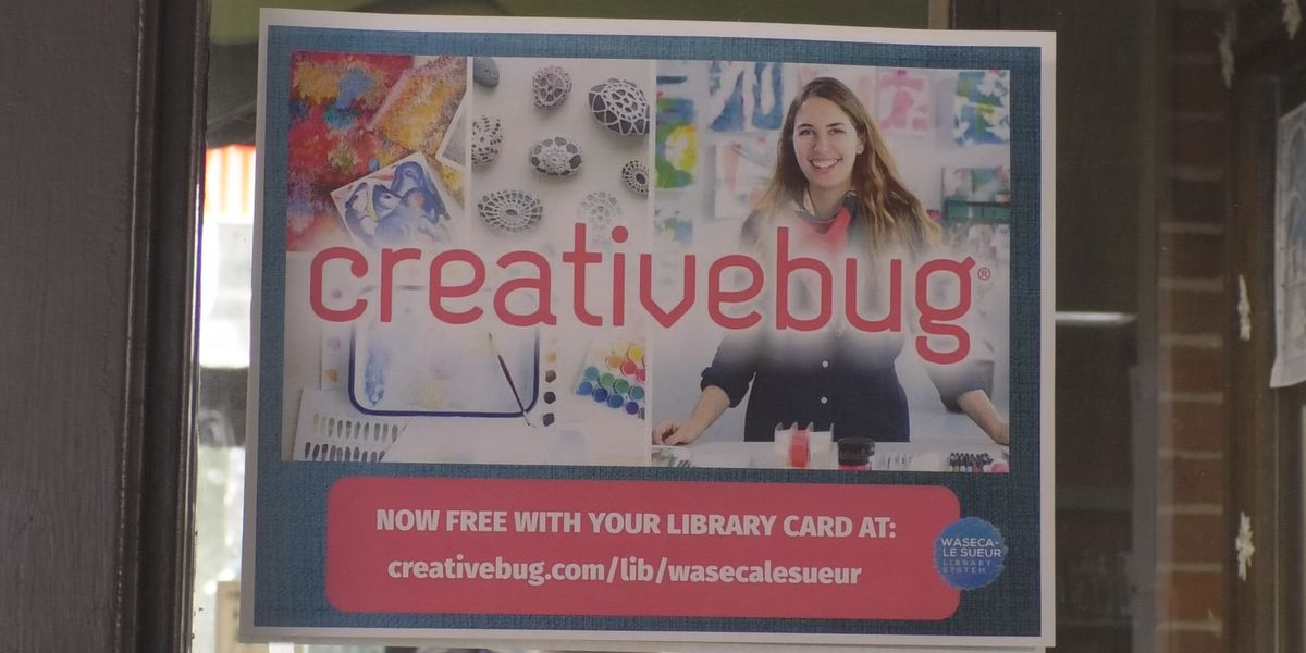 Library offers free online arts and crafts lessons