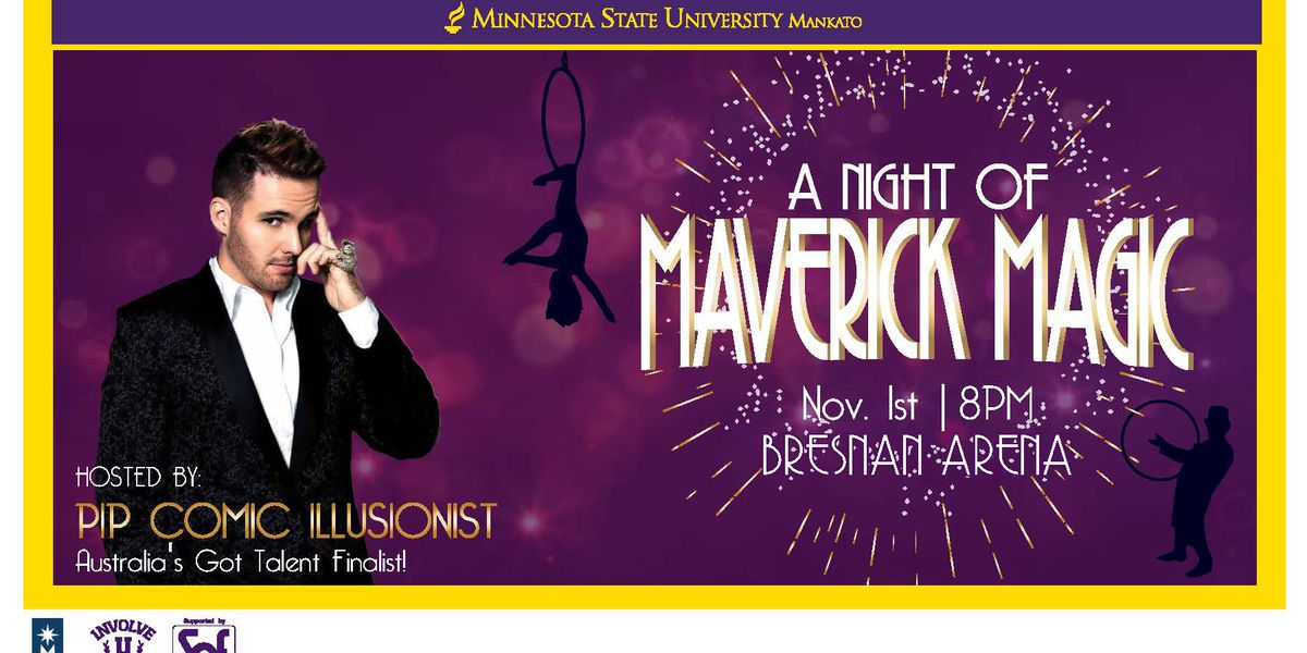 "MSU's Student Events Team invites public to ""A Night of Maverick Magic"""