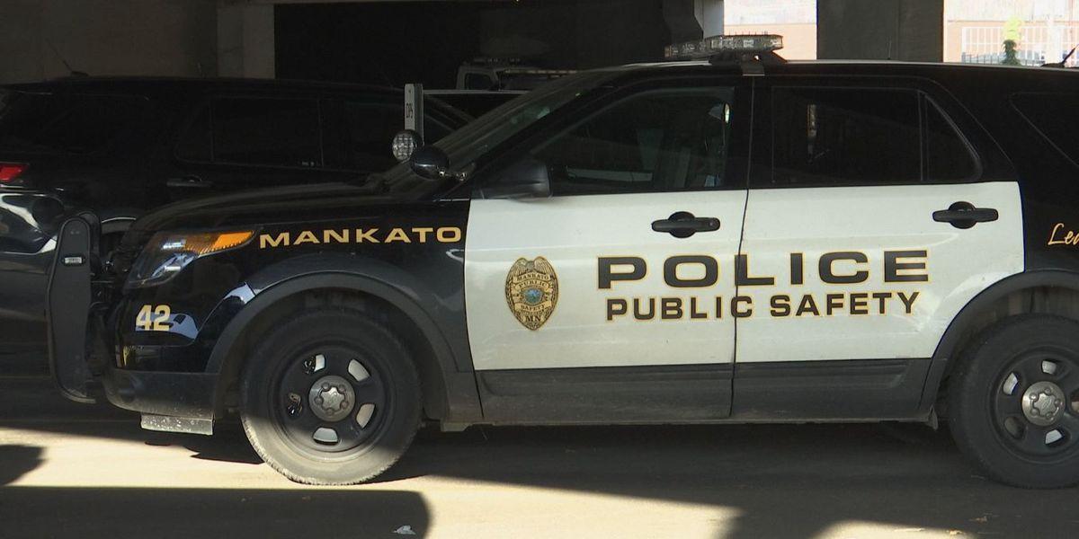 Mankato Public Safety investigating garage fire