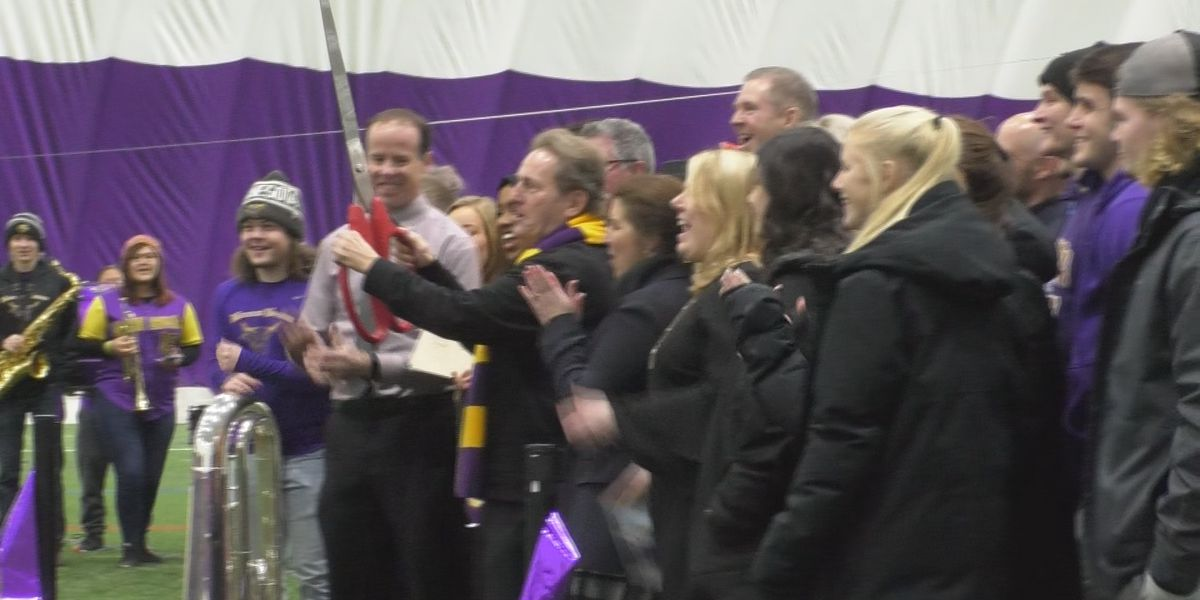 Maverick All-Sports Dome hosts its ceremonial ribbon-cutting