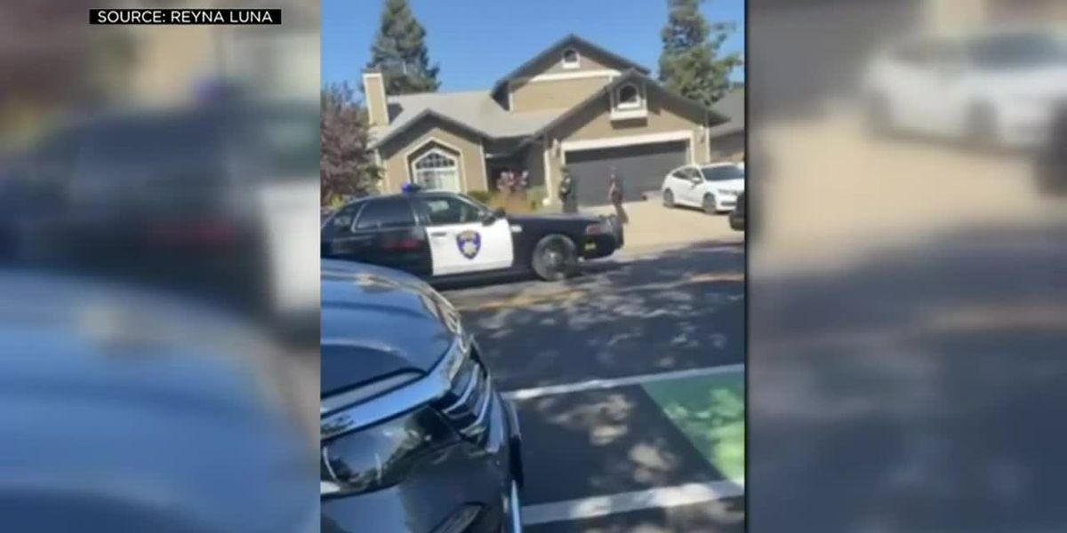 Calif. teacher calls 911 after man breaks into students' home