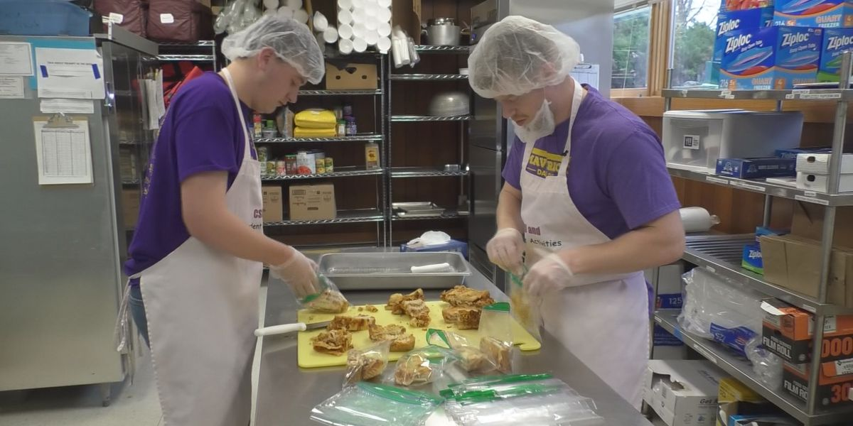 MSU's Campus Kitchen whips up a recipe to fight hunger year-round