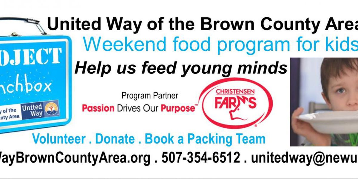 United Way of the Brown County Area launches weekend food program