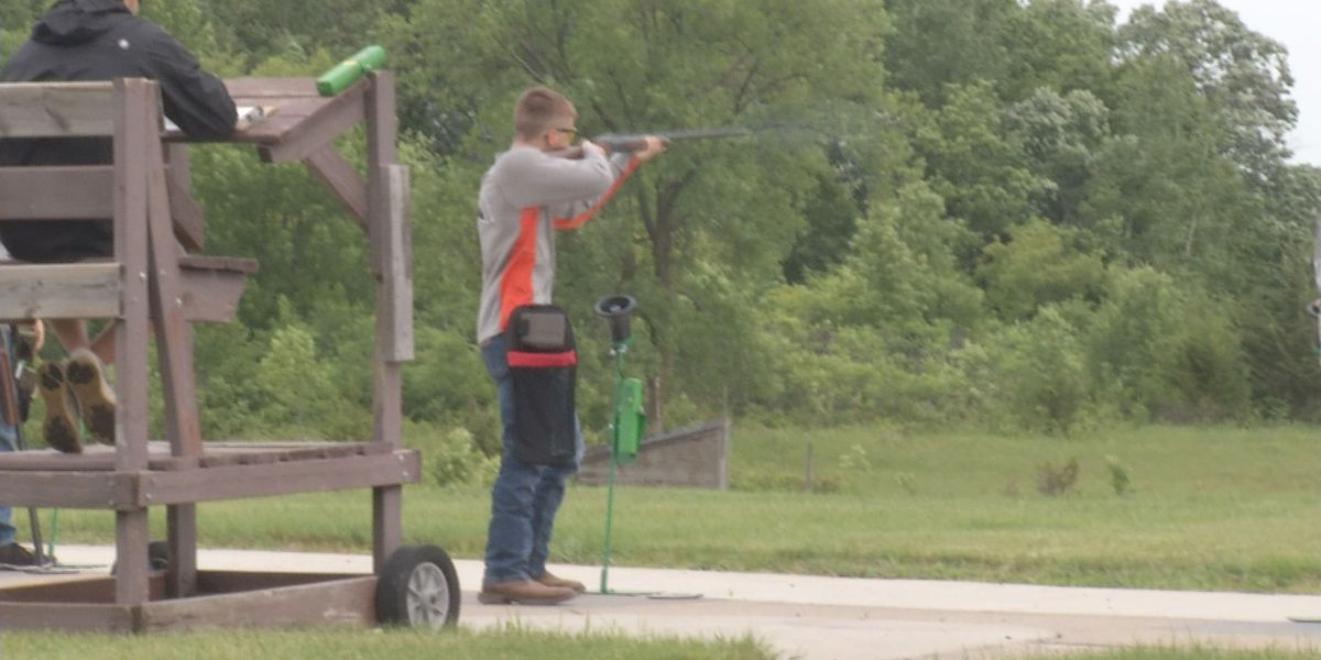 Local teams compete in trap shooting state tournament