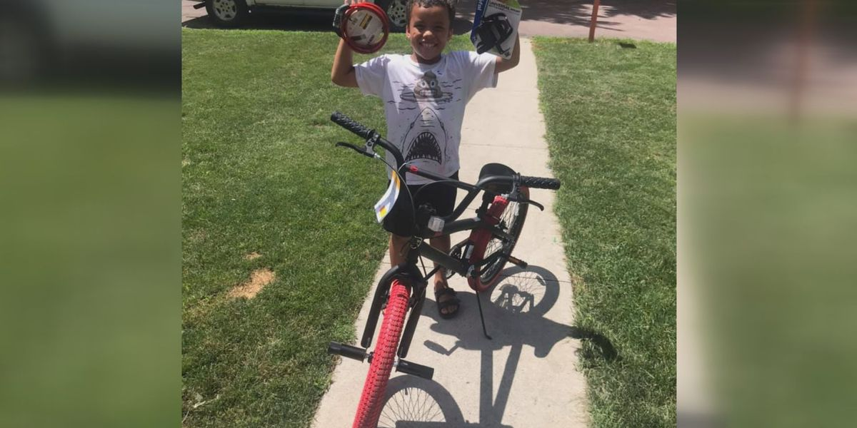 Neighborhood raises money for boy whose bike was stolen