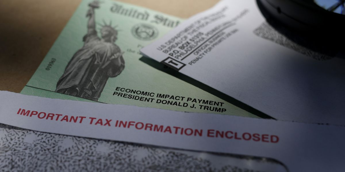 Some taxpayers find stimulus checks sent to wrong account
