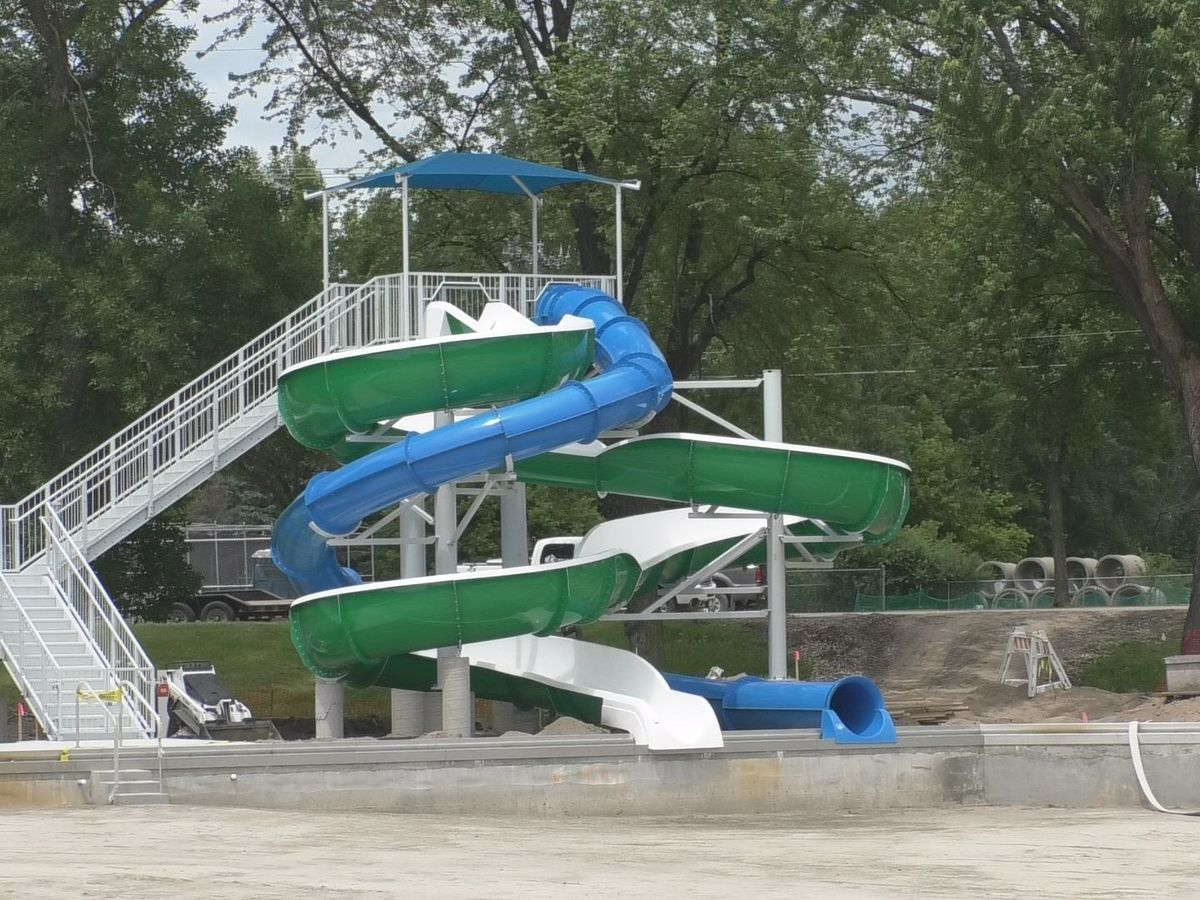 Spring Lake Park Pool nearing completion