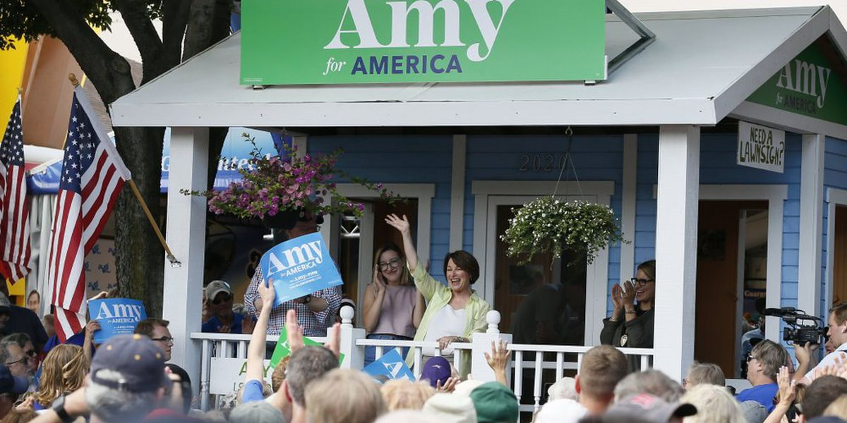 'Rev it up': Back at home, Klobuchar is told to get tough