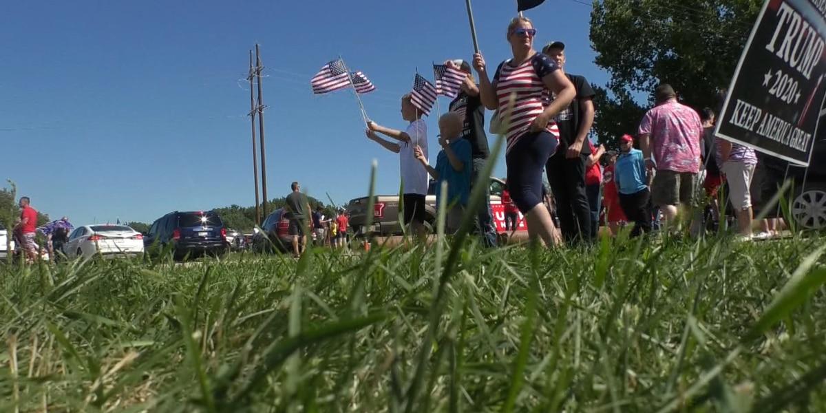 Trump's visit stirs up the community