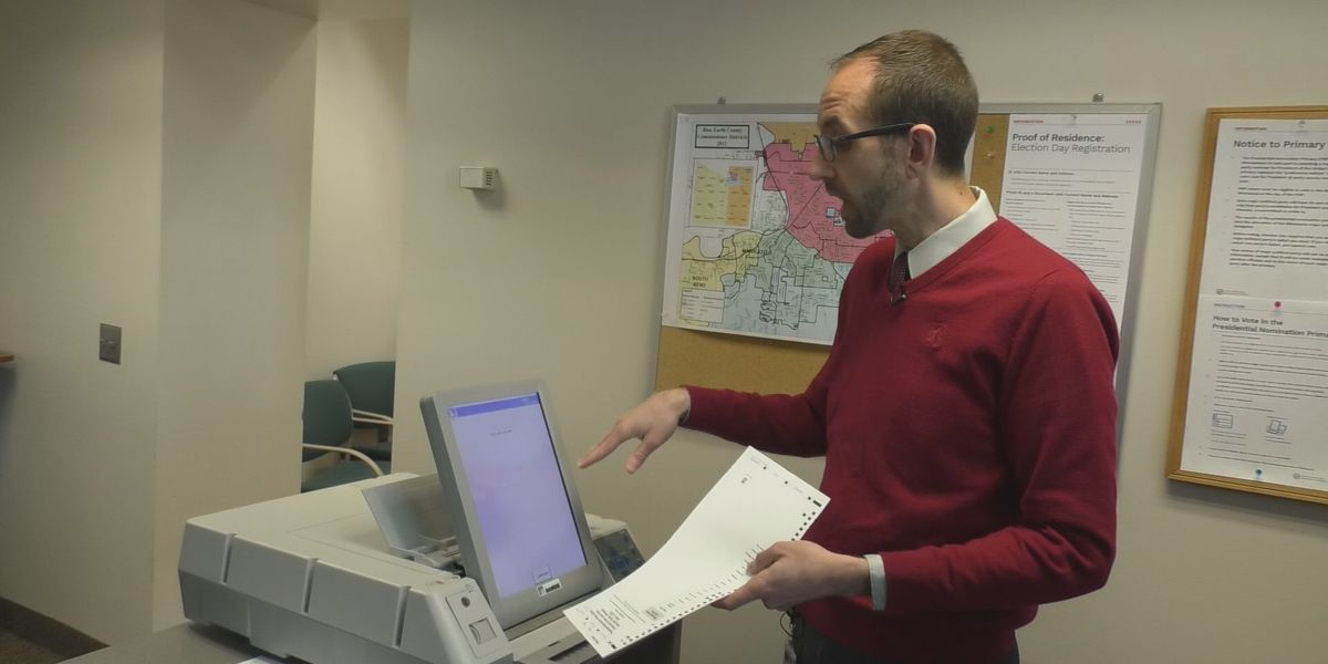 Technology at precincts to ensure voting independently is possible for voters with disabilities