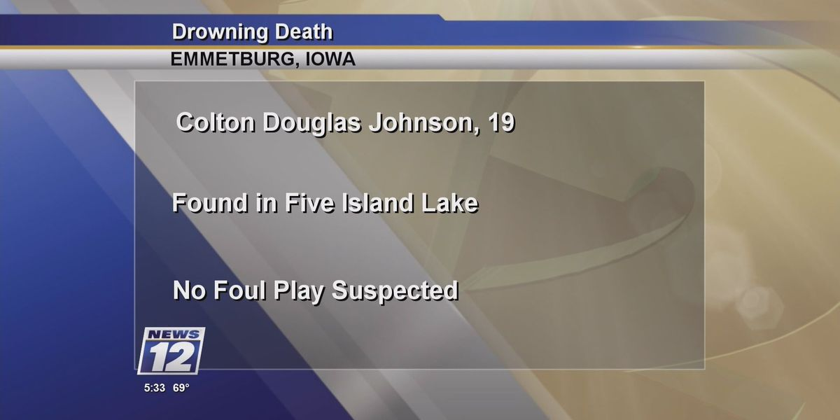 Body identified in apparent Emmetsburg, IA drowning