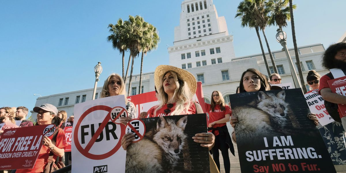 California governor signs fur sale, circus animal bans