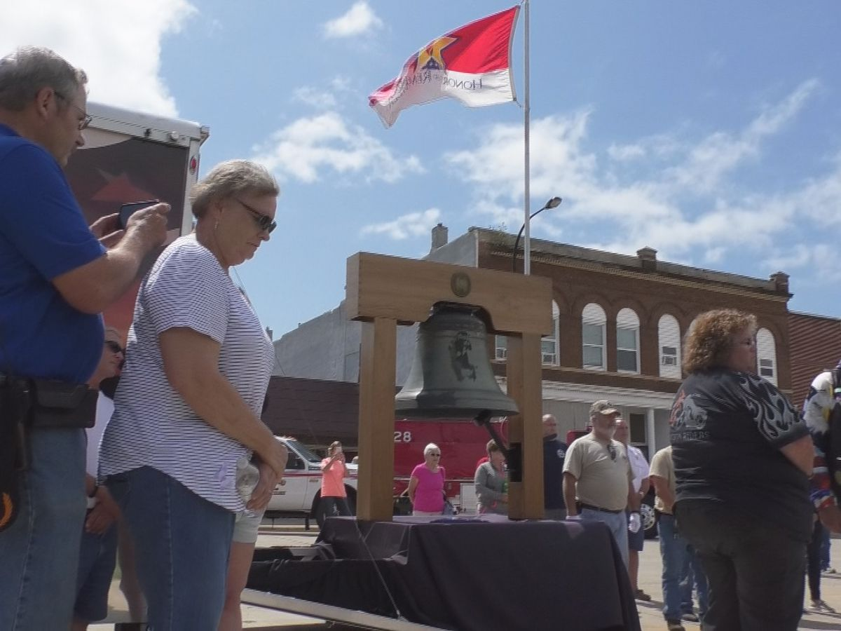 Bell of honor comes to Wells