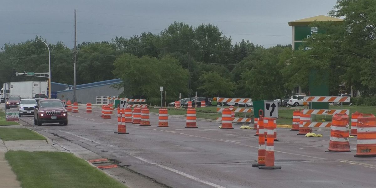 Concrete work begins on Commerce Drive