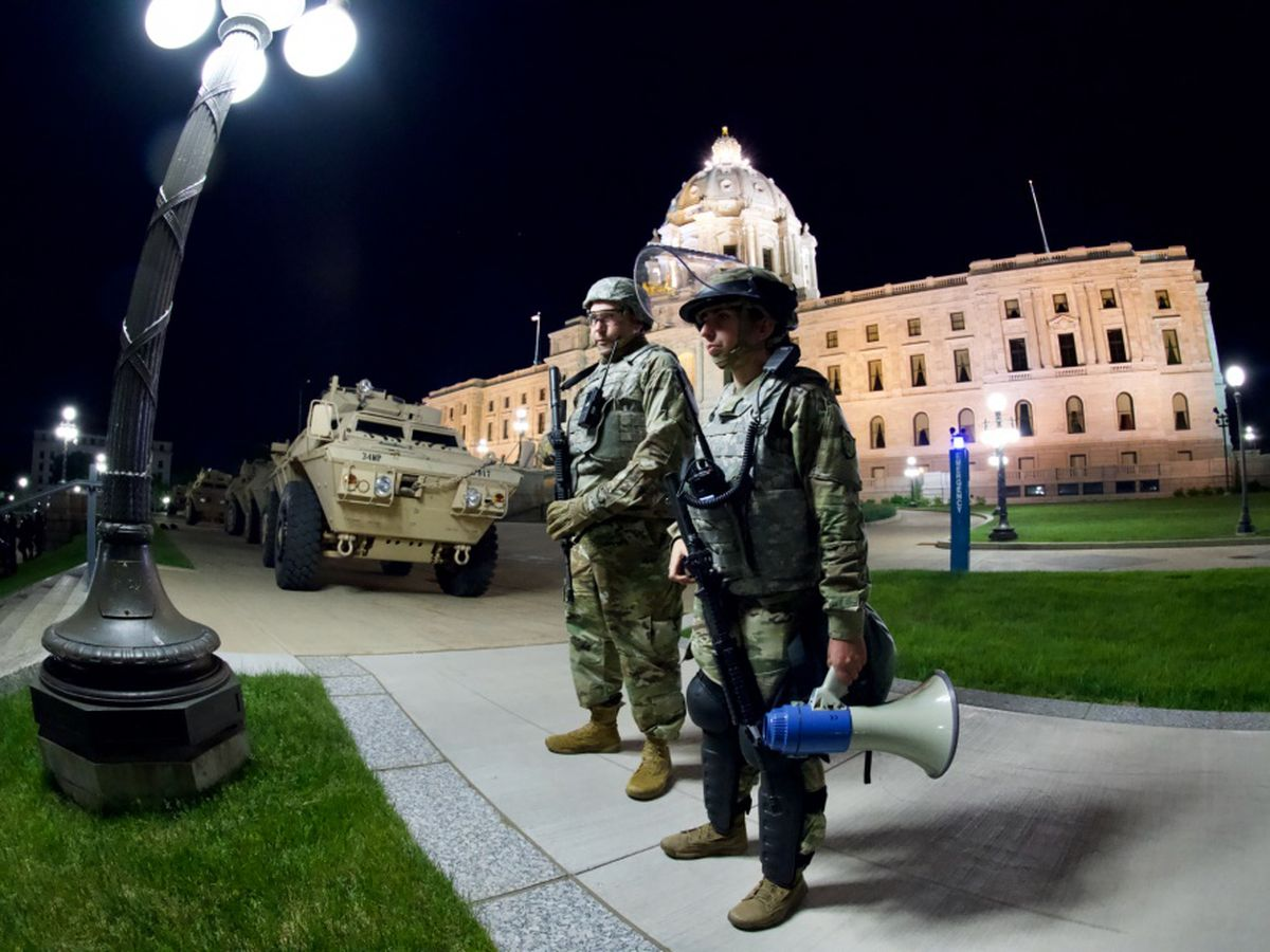 Walz activates National Guard for Minnesota Capitol security