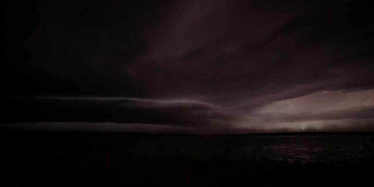 Night Time Shelf Cloud