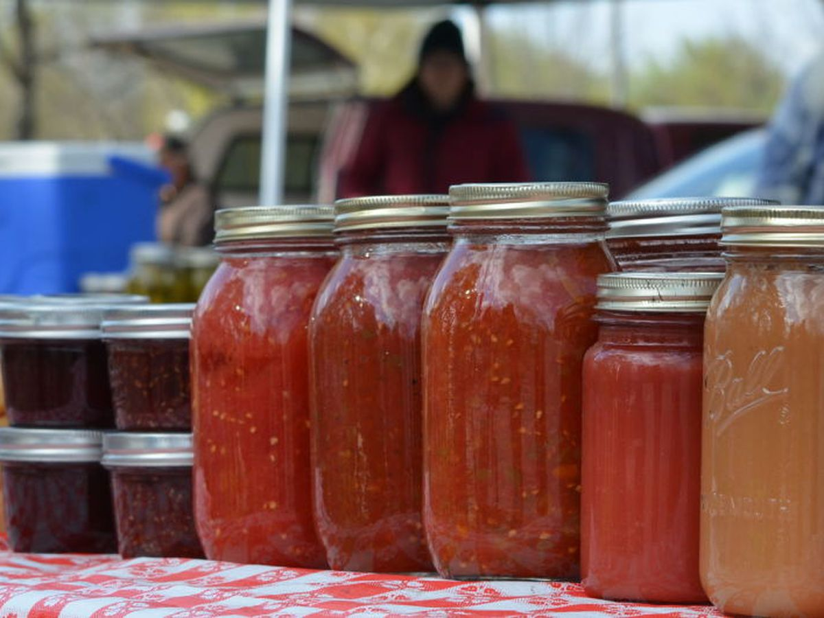 First day for North Mankato Farmer's Market