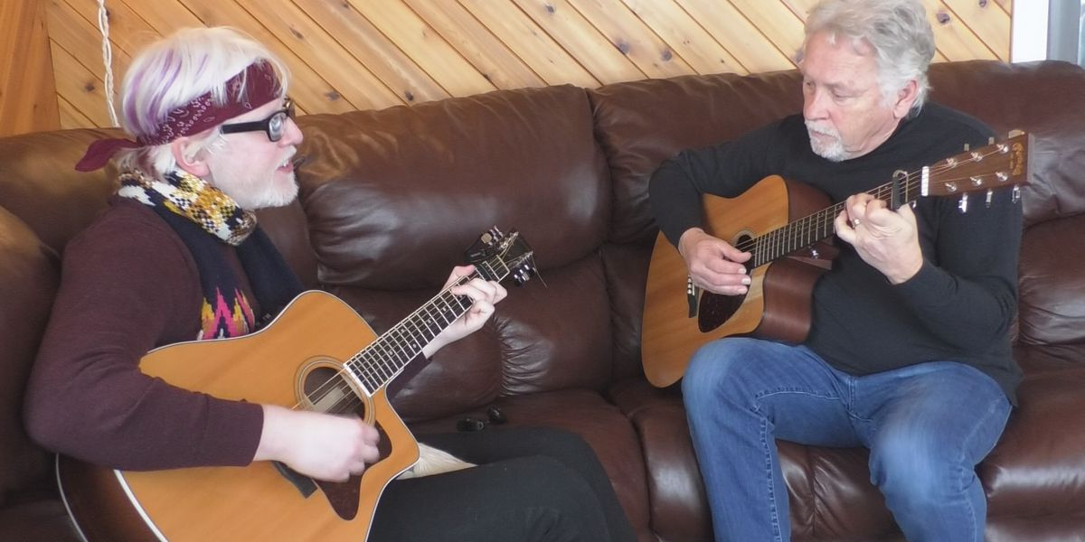 Grandfather, grandson duet bring music locally for years