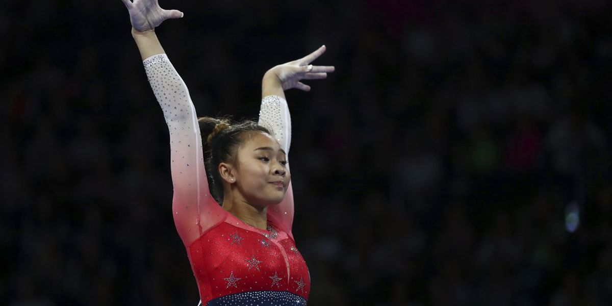 US gymnast Sunisa Lee caps emotional 2 months with gold
