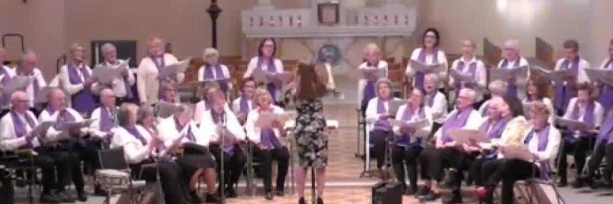 Singing Hills Chorus prepares for 'I Will Sing' virtual concert