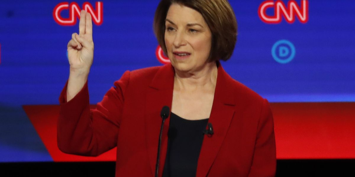 Sen. Klobuchar says she has qualified for next Democratic debate