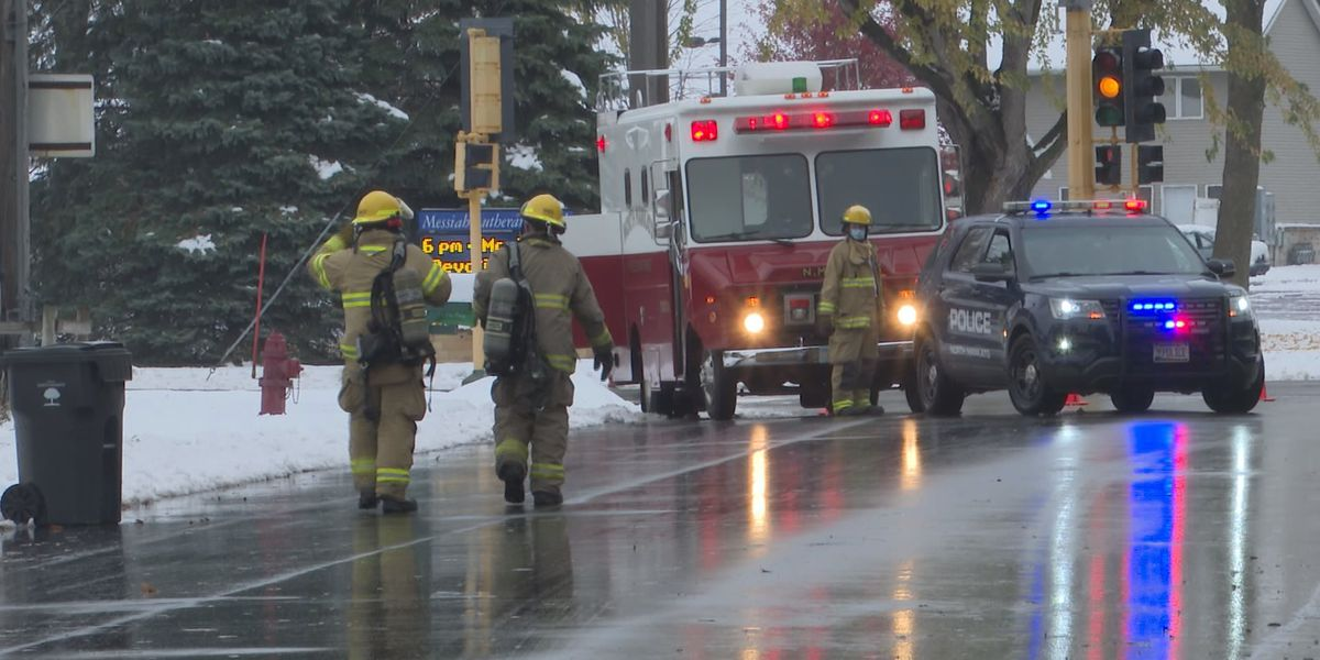 Firefighters respond to house fire in North Mankato